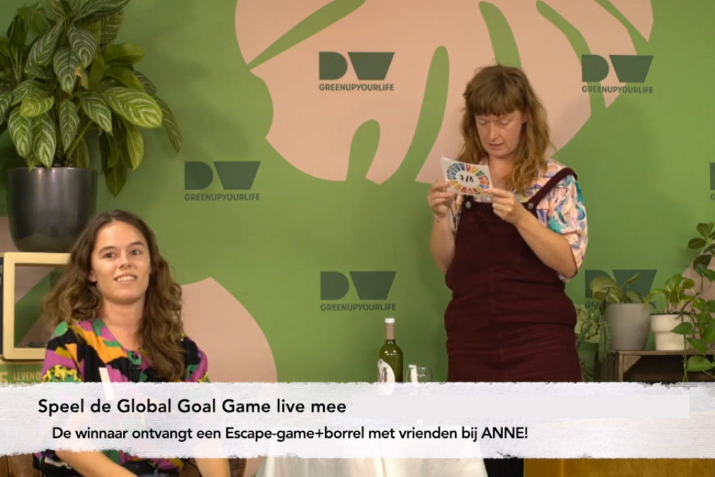 Global Goal Game ANNE Duurzame Week
